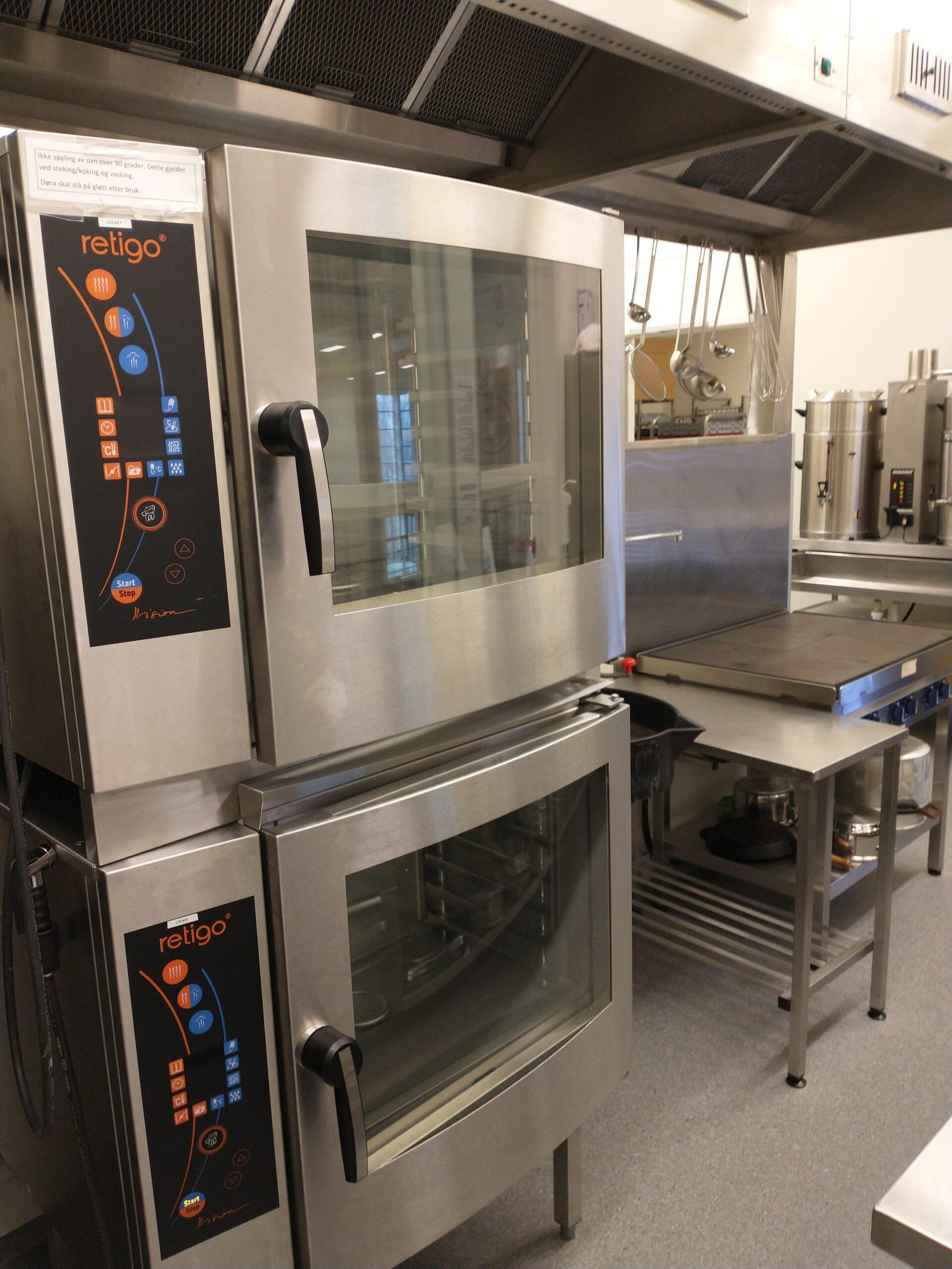 kjøkken kombidamp ovner komfyr
